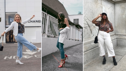 19 Cute Outfit Ideas You Can Wear With Cropped Jeans ASAP   StyleCaster