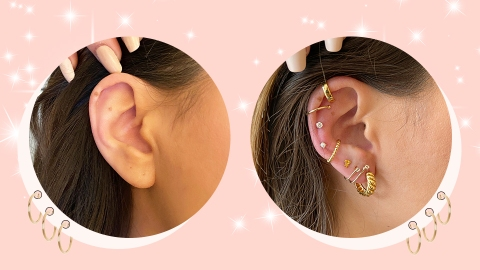 I Got A Custom Earscape & My Lobes Have Never Looked So Luxe | StyleCaster