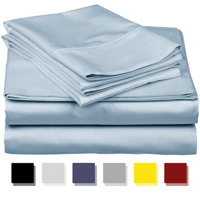 egyptian cotton sheets thread spread These Egyptian Cotton Sheets Will Bring You the Most Luxurious Sleep Of Your Life