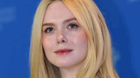 Elle Fanning Dyed Her Hair Pastel Pink at Home and It's So Dreamy | StyleCaster