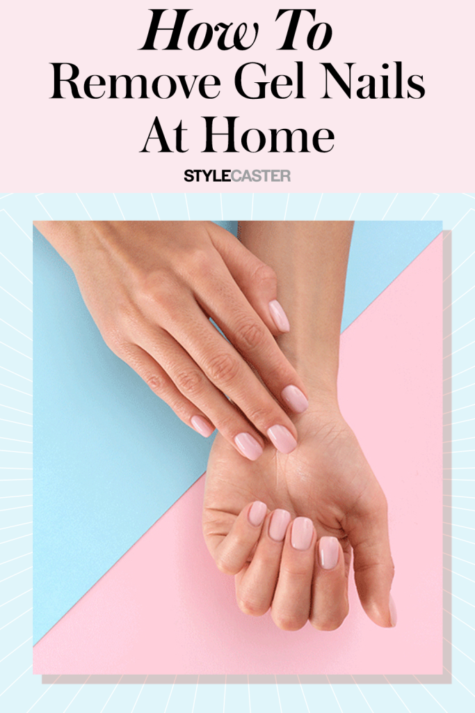 STYLECASTER | How to remove gel nail polish | how to remove gel manicure at home