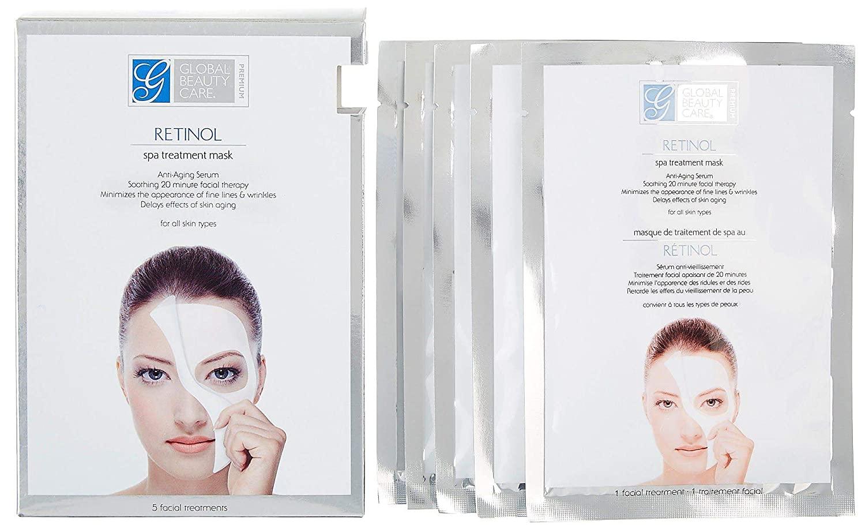 Global Beauty retinol mask