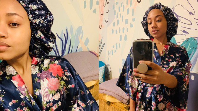 glow by daye review A Black Woman Created the Satin Bonnet That Actually Stays Put While I Sleep
