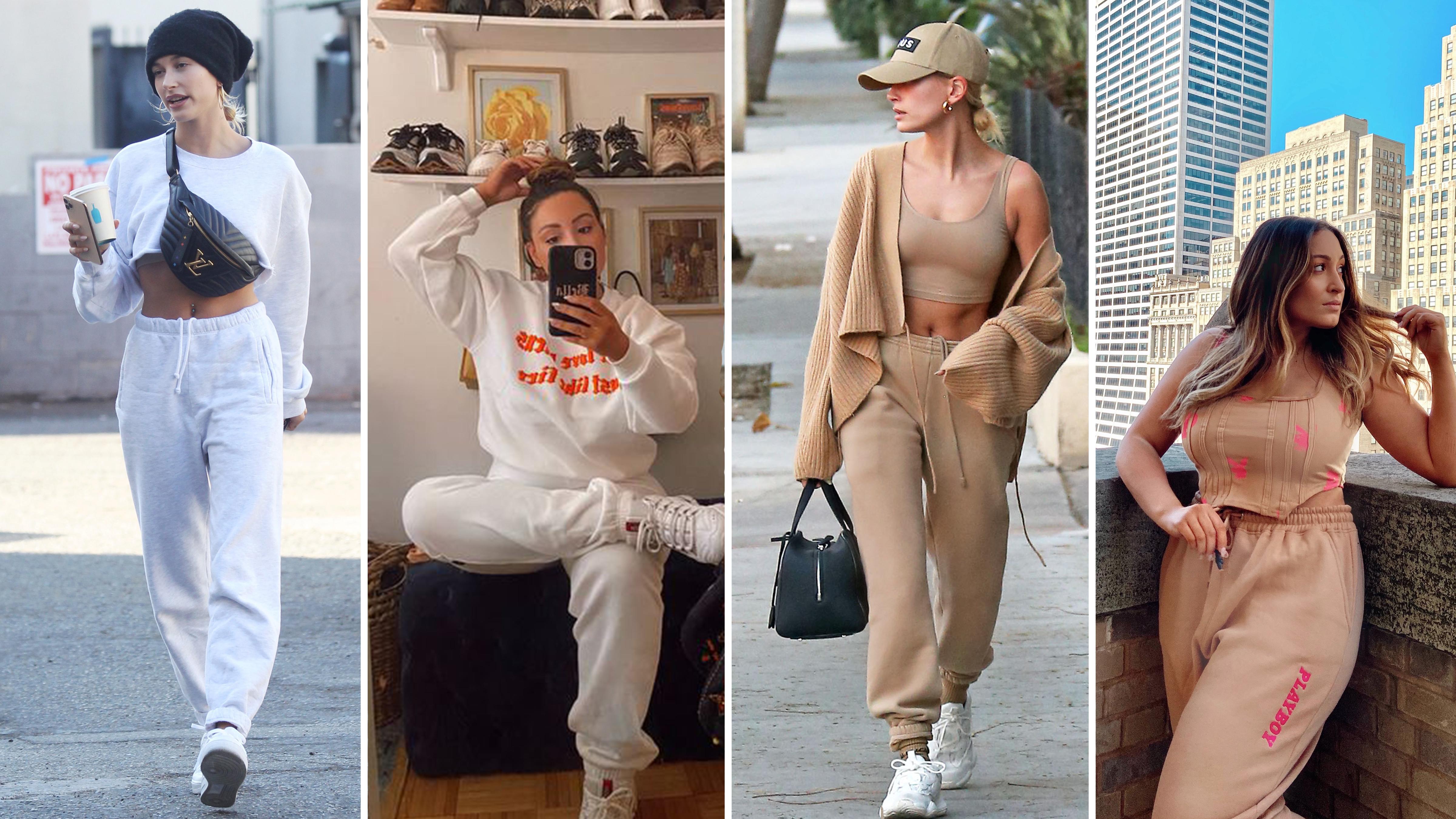 How To Dress Like Hailey Bieber, The Sweatsuit Savant