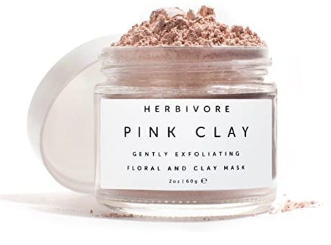 STYLECASTER | Virtual Party Theme Ideas | pink clay mask