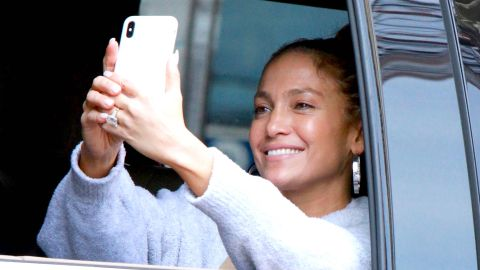 J.Lo's Tie-Dye Athleisure Look Is the Ultimate WFH Outfit Inspo   StyleCaster