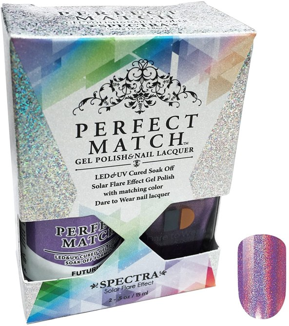 lechat perfect match spectra polish futuristic 3 Stunning Spring Nail Trends That Will Keep You Busy at Home