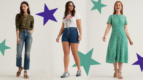 Lucky Brand Is Expanding the Number of Sizes They Carry In-Stores & We Can't Help but Stan | StyleCaster