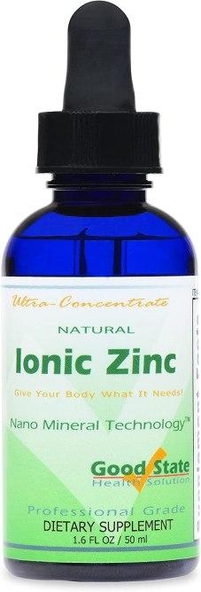 zinc supplement botox