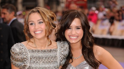 Miley Cyrus & Demi Lovato Hinted They Hooked Up During Their Disney Days & We Ship It | StyleCaster