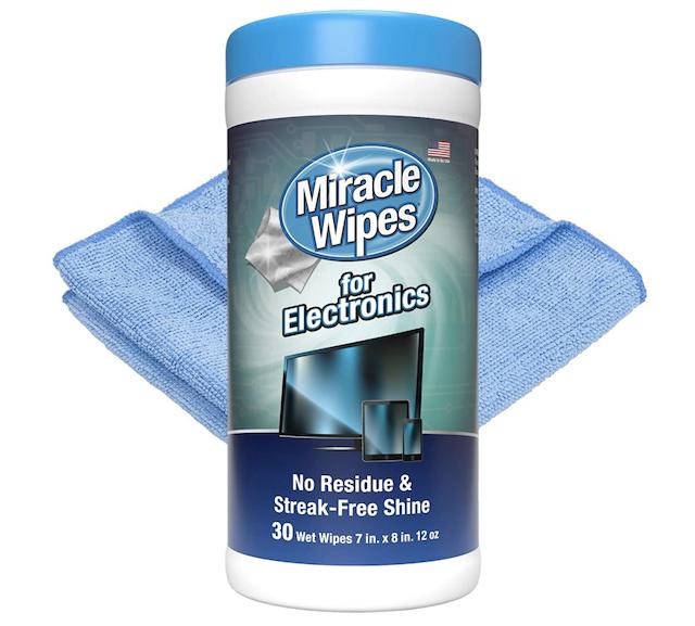 MiracleWipes za čišćenje elektronike