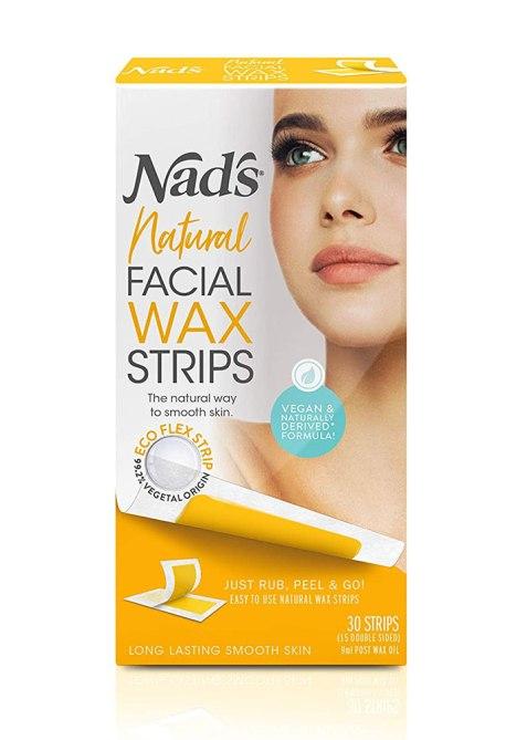 Nads Natural Facial Wax Strips