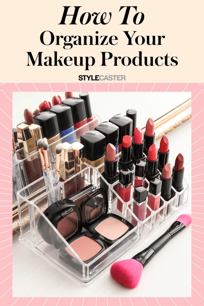 STYLECASTER | makeup organization | makeup vanity organization | makeup organizers | makeup organization tips ideas | makeup drawer organization | small makeup organization |