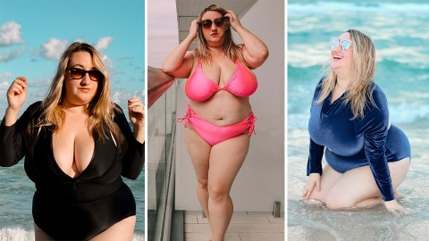 21 Cute Plus-Size Swimsuits To Get You Poolside Ready | StyleCaster