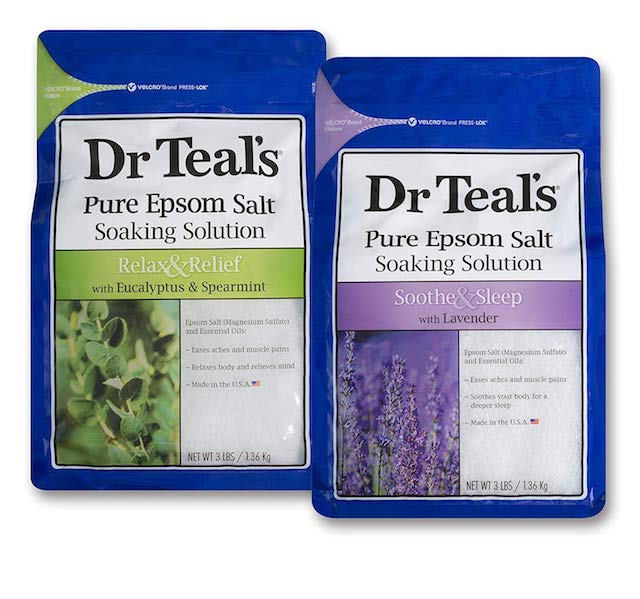 salt soak bags dr teals Soothing Salt Soak Bags That Are Missing from Your Self Care Routine