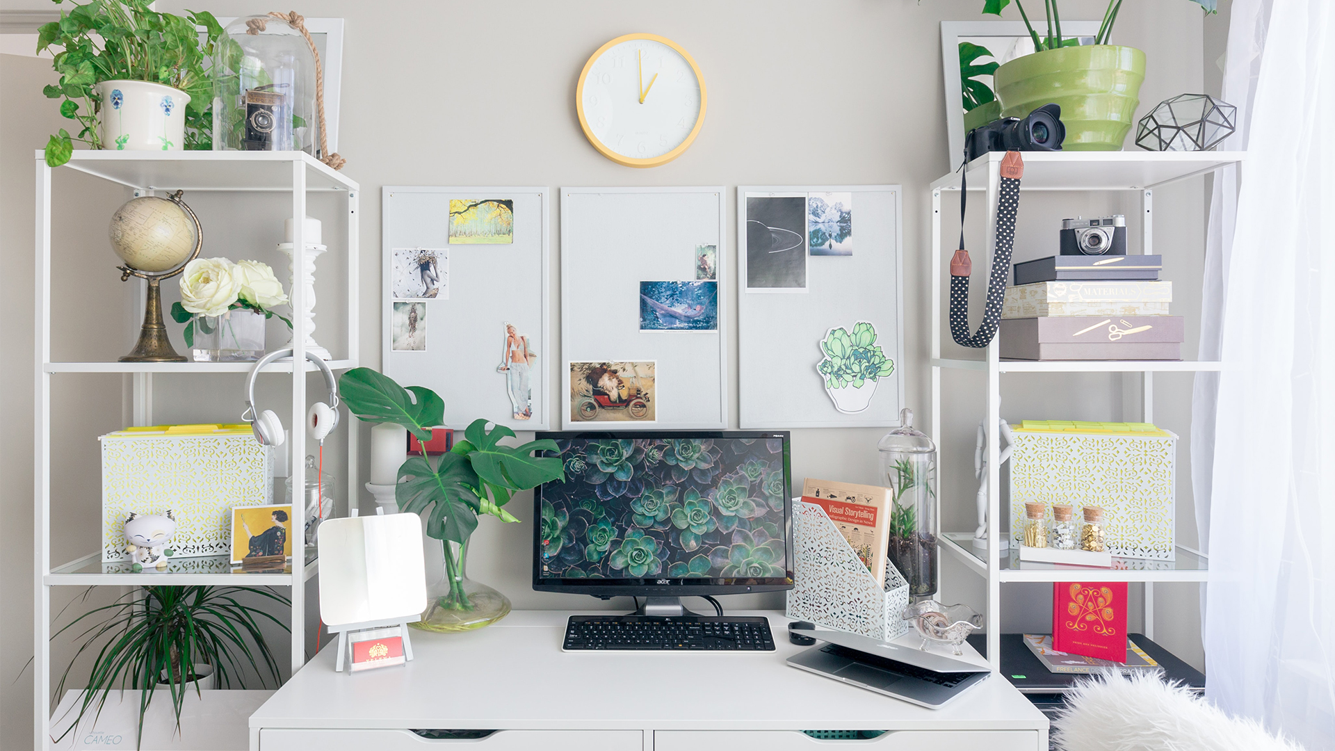 Home Office Decor Ideas 20 Ways To Amp Up Your WFH Space ...