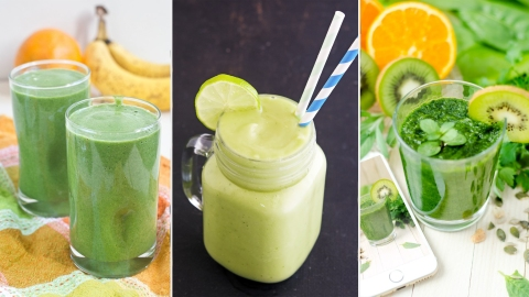 17 Easy Green Smoothie Recipes You'll Like Even If You Aren't Healthy | StyleCaster