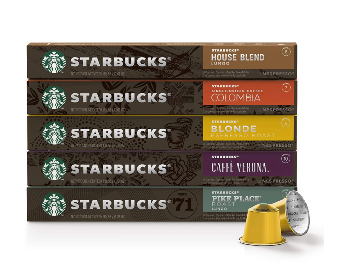 Starbucks by Nespresso Best Seller Variety Pack