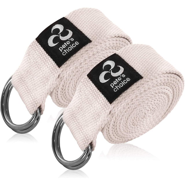 straps for yoga petes choice These Straps for Yoga Help Regular Practitioners Achieve a Deeper Stretch