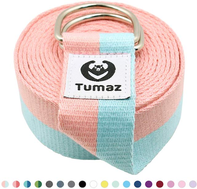 straps for yoga tumaz These Straps for Yoga Help Regular Practitioners Achieve a Deeper Stretch