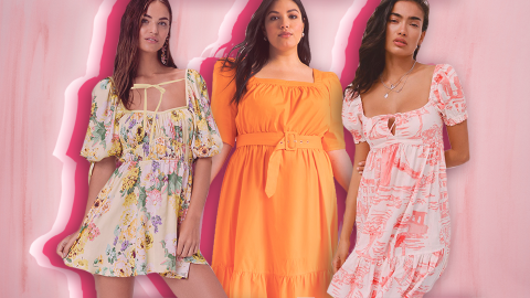 20 Summer Dresses So Good, You Might Want to Ditch Pants Forever | StyleCaster