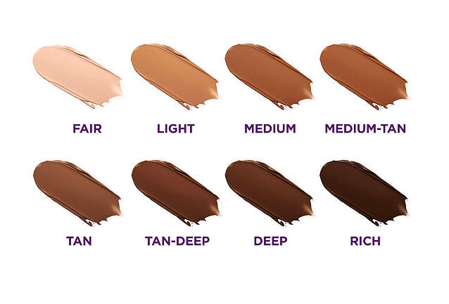 tarte shape tape body shades