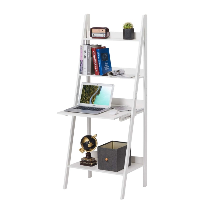 STYLECASTER | home office decor trends shelf desks