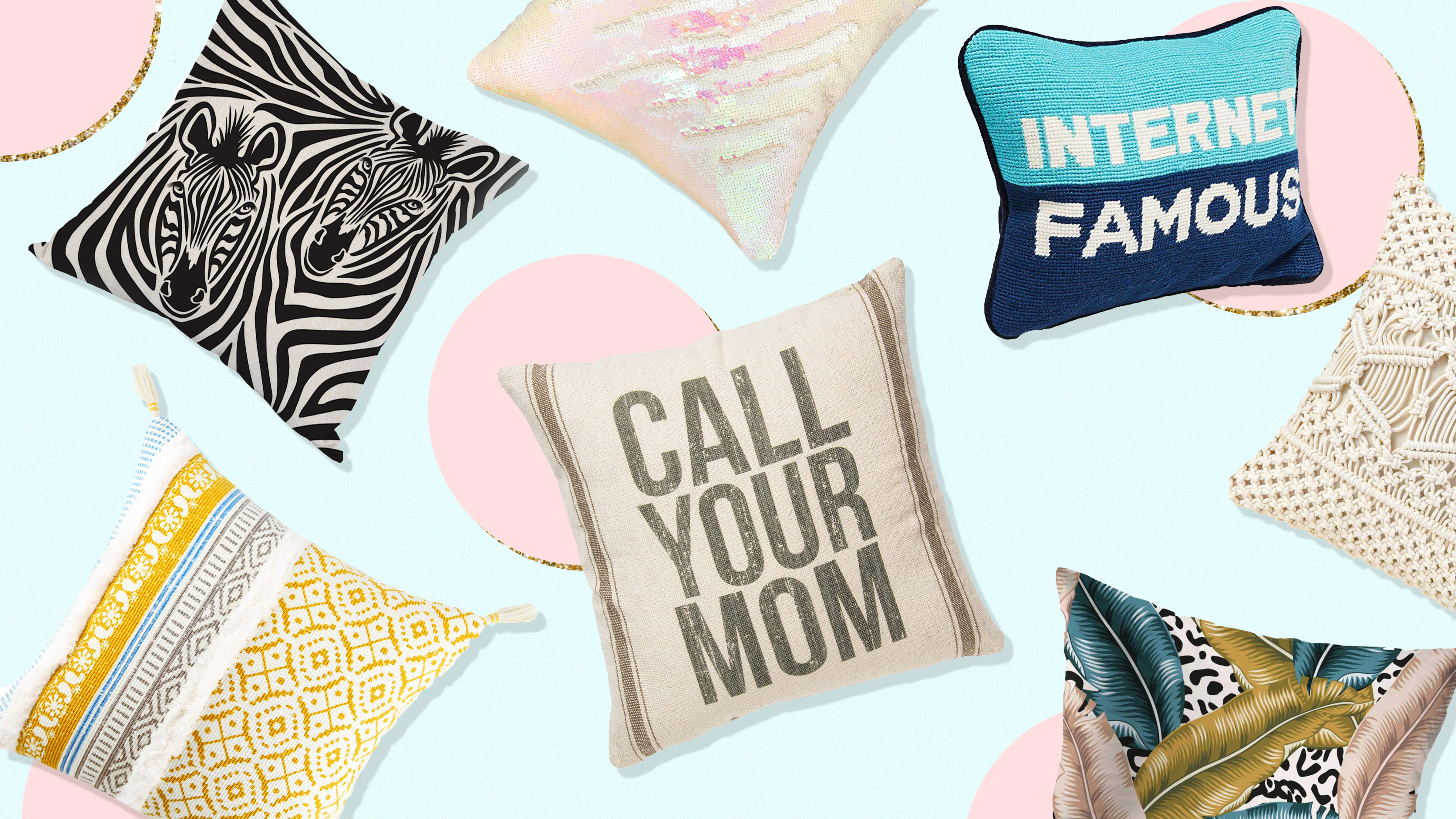20 Throw Pillows From Amazon To Jazz Up Your Space For 30 Under Stylecaster