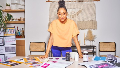 Tia Mowry's 'Mind-Blowing' Secret to Making a Power Nap Feel Like a Full Night's Sleep | StyleCaster