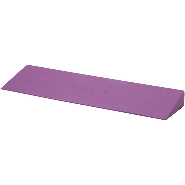 yoga wedge gaiam Grounding Yoga Wedges to Help Support Your Joints On & Off The Mat