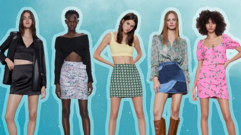 13 Mini Skirts For Every Mood—& Outfit—You Can Think Of | StyleCaster