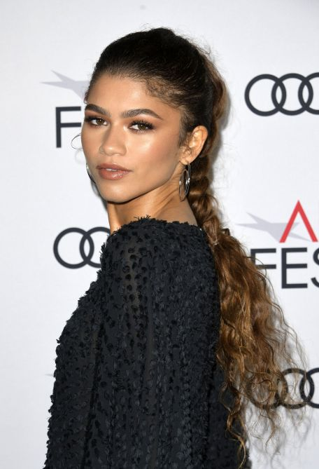 zendaya ponytail