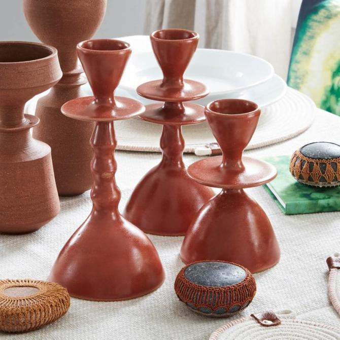 STYLECASTER | Altuzarra x Etsy Home Decor Collection | candlesticks