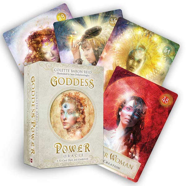 STYLECASTER   Best Oracle Cards   goddess power deck