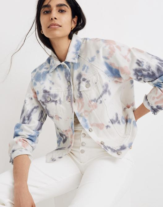 STYLECASTER | Summer 2020 Trends | tie dye jacket
