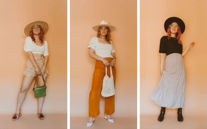 STYLECASTER   How To Style Puff Sleeve Trend