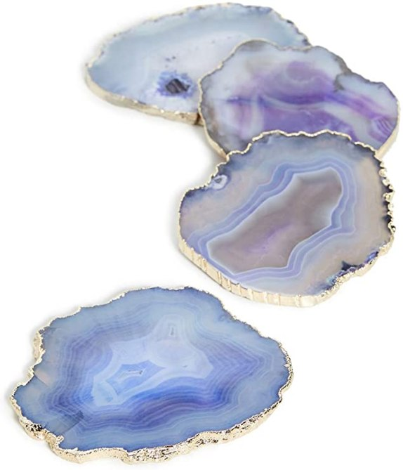 STYLECASTER | Graduation Gift Ideas 2020 | agate coasters