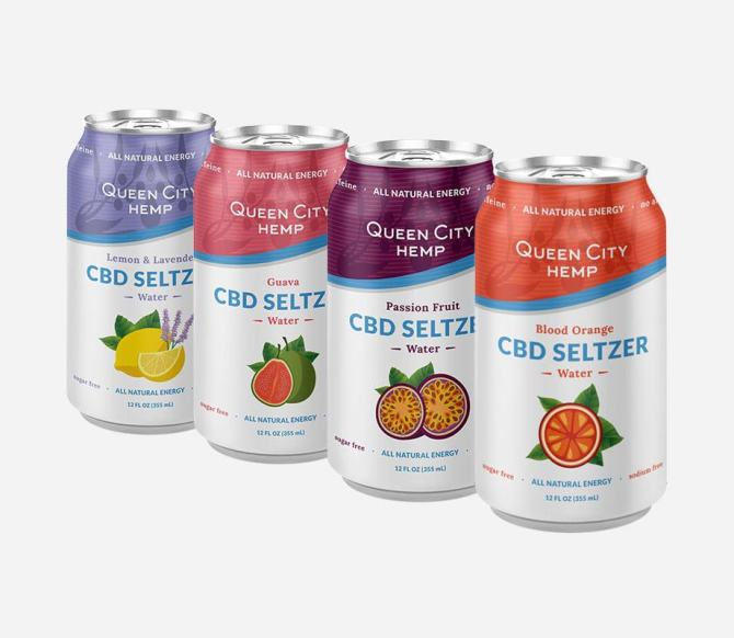 STYLECASTER | Best CBD Drinks | cbd seltzer Queen City Hemp