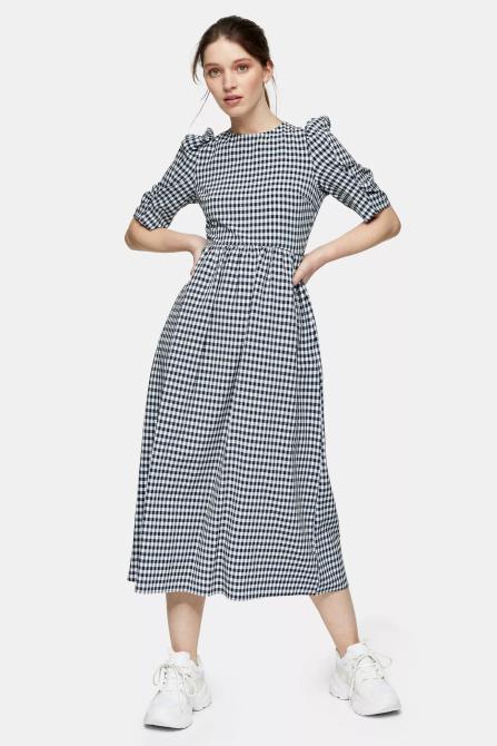 STYLECASTER | Topshop Sale April 2020 | gingham dress