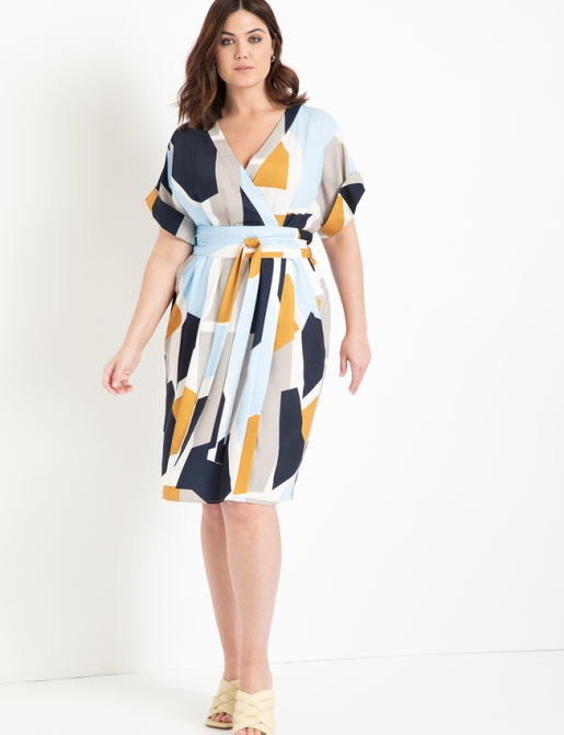 STYLECASTER | Eloquii Spring 2020 Sale | wrap dress