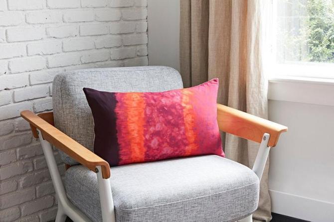 STYLECASTER | Altuzarra x Etsy Home Decor Collection | tie dye pillow