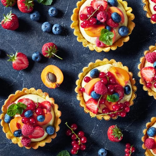 STYLECASTER | Edible Weed Recipes | berry CBD tarts