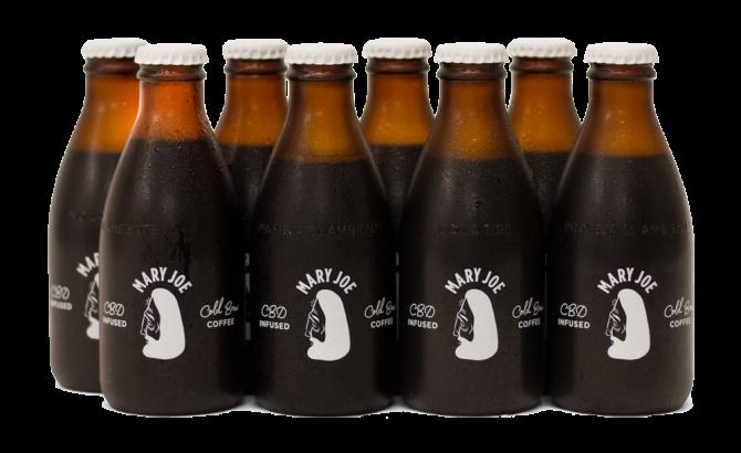 STYLECASTER | Best CBD Drinks | Mary Joe cbd cold brew
