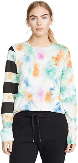 STYLECASTER | Tie Dye Trend 2020 | tie dye sweatshirt