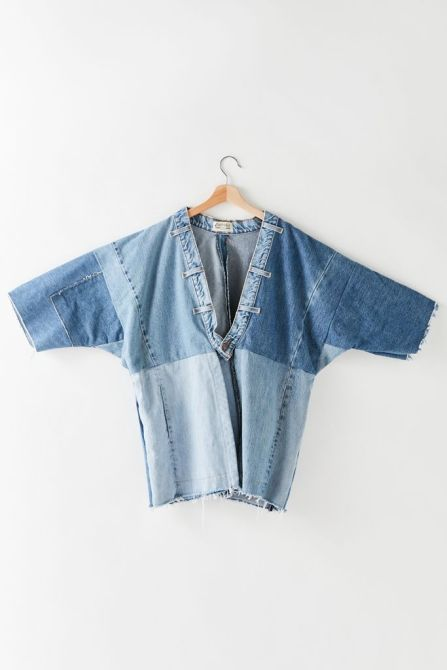 STYLECASTER | Urban Outfitters Vintage Collections | denim jacket