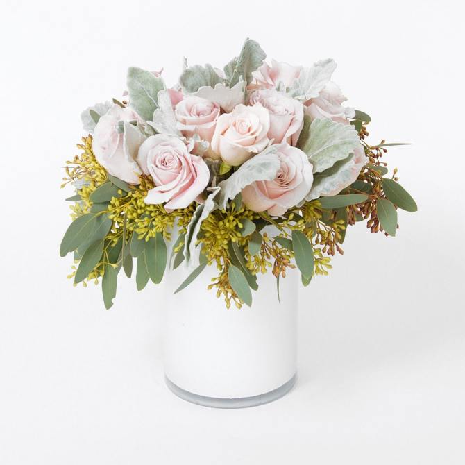 STYLECASTER | Best Flower Delivery Services | Floom white roses
