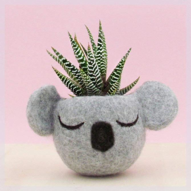 STYLECASTER | Graduation Gift Ideas 2020 | koala planter