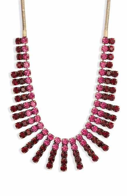STYLECASTER | Nordstrom Sale Jewelry | ombre crystal necklace