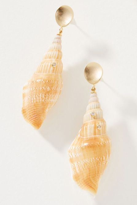 STYLECASTER   Anthropologie Sale April 2020   shell earrings
