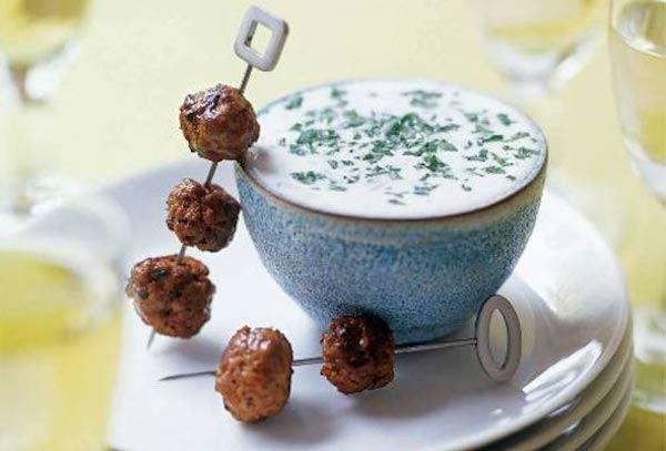 STYLECASTER   Easy Keto Recipes   lamb meatballs